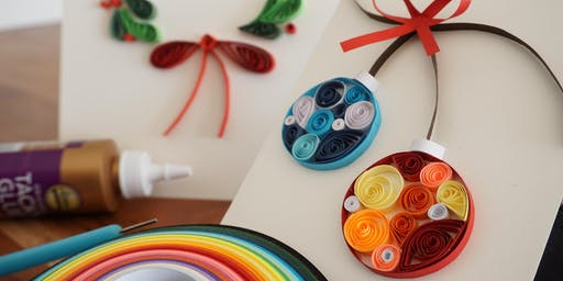 Paper Quilling Holiday Cards!