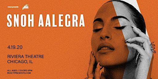 Snoh Aalegra - Ugh, A Tour Again
