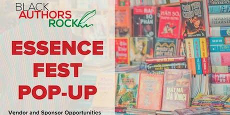 Black Authors Rock Essence Pop-Up 2020 tickets