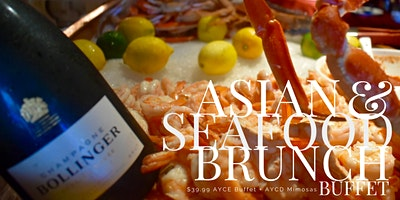 Asian Champagne Brunch - Saturdays & Sundays