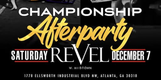 SEC CHAMPIONSHIP AFTERPARTY SATURDAY NIGHT @ REVEL