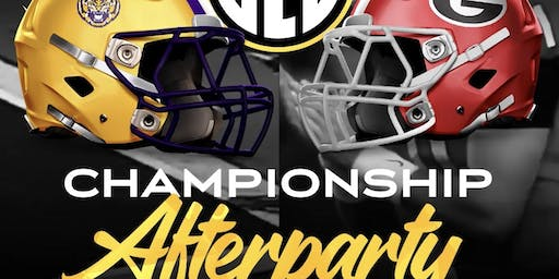 OFFICIAL SEC CHAMPIONSHIP AFTERPARTY AT REVEL! Social Life Saturday's!