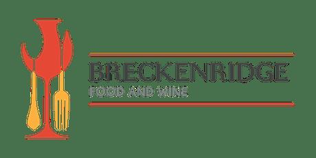 Breckenridge Food & Wine 2020 tickets