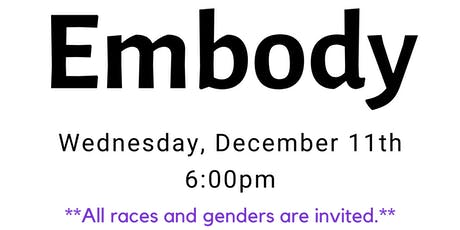 The Black Mecca Project series: Embody, Part 4 tickets