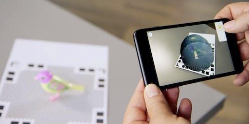 3D model u AR (proširena stvarnost) - Željko Ronta & Alen Terzić