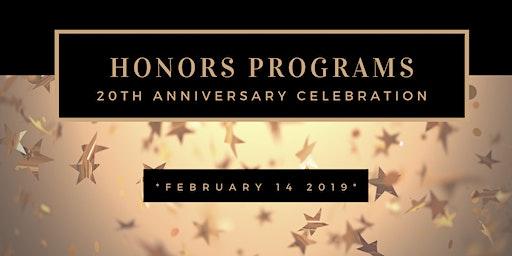 Honors Programs 20th Anniversary Celebration