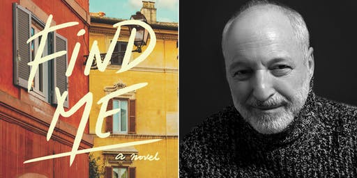 "André Aciman, Author of ""Find Me"""