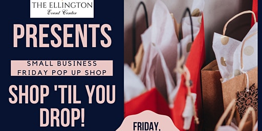 Small Business Friday Pop Up Shop