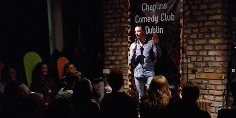 Chaplins Comedy Club tickets