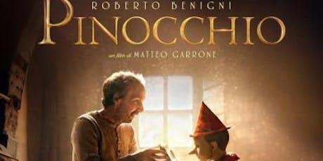 Pinocchio biglietti