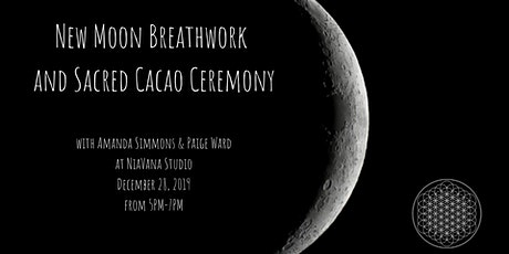 New Moon Breathwork and Sacred Cacao Ceremony tickets