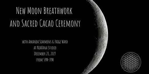 New Moon Breathwork and Sacred Cacao Ceremony