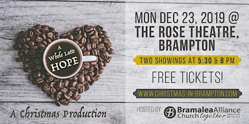 A Whole Latte HOPE - A Christmas Production