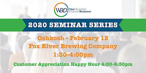WBD 2020 Seminar Series - Oshkosh