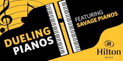 Savage Pianos, Dueling Pianos at Hilton Mystic, Mystic, CT
