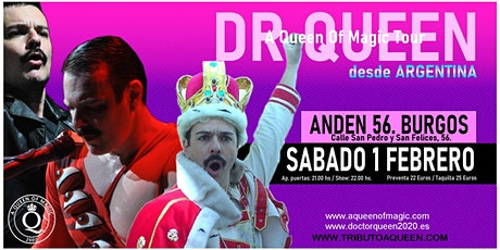 DR QUEEN - A QUEEN OF MAGIC TOUR - BURGOS entradas