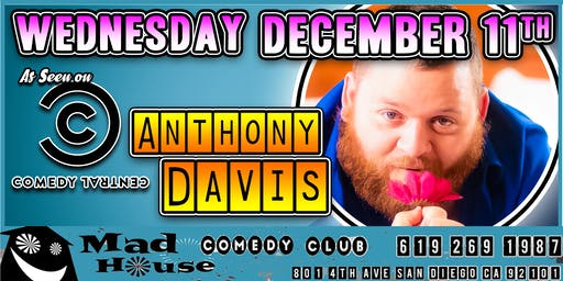Anthony Davis as seen on NBC's Last Comic Standing!