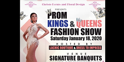 PROM KINGS AND QUEENS FASHION SHOW