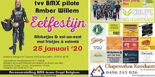 MusicMaster Ward @ Crupi BMX Belgium Ploegvoorstelling - Jonkhove