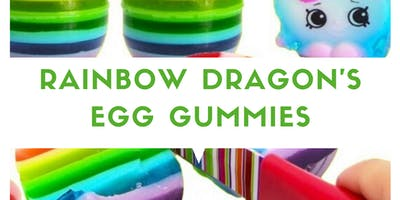 LABORATORIO PER BAMBINI 3-10 ANNI! RAINBOW DRAGON'S EGG GUMMIES