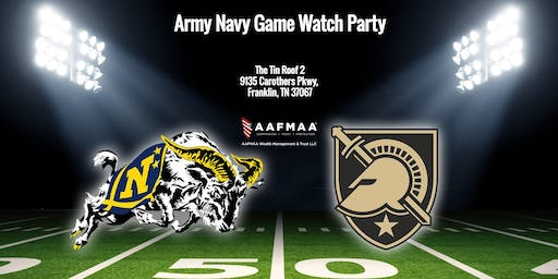 Army v. Navy Football Watch Party at The Tin Roof 2