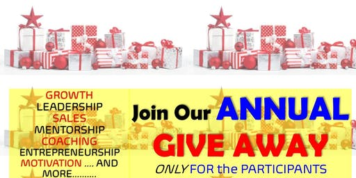 Holiday Appreciation Party - Business Owners/ Aspiring Leaders