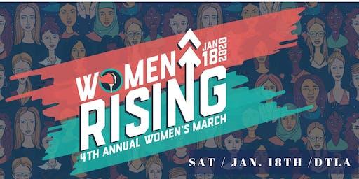 4th Annual Women's March LA: Women Rising