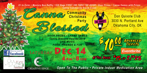 Canna Blessed Community Christmas Party