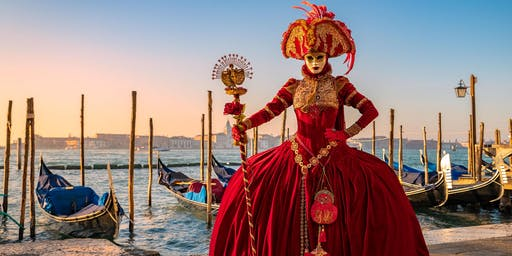 Ballet & Ball Gowns Dance Photo Workshop at the Venice Carnival