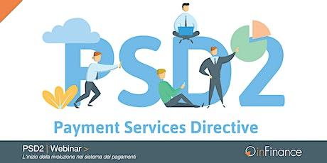 Webinar   PSD2: l'inizio della rivoluzione nel sistema dei pagamenti biglietti
