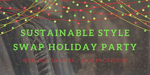 Sustainable Style Swap Holiday Party