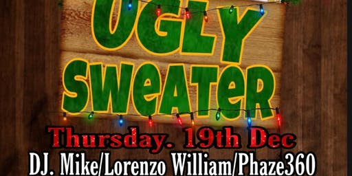 """THE PRIVATE I PRESENTS: """"UGLY SWEATER NIGHT"""" W/PHAZE360 BAND"""