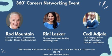360° Careers Networking Event tickets