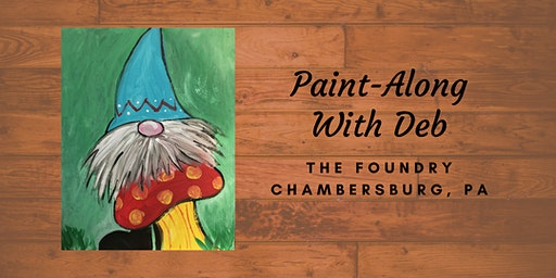 Treat Yourself Tuesday Paint-Along - Gnome