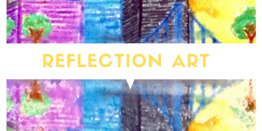 LABORATORIO PER BAMBINI 3-10 ANNI! REFLECTION ART