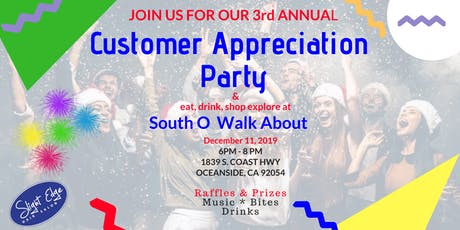 3rd Annual Customer Appreciation Party tickets