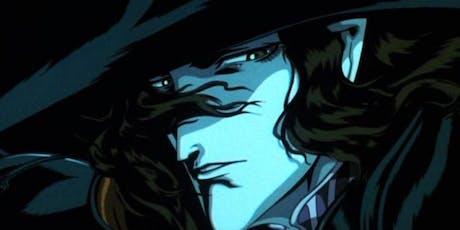 The Club Sneak Peek: the Japanese anime classic VAMPIRE HUNTER D tickets
