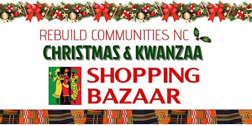 ReBuild Communities NC Christmas & Kwanza Shopping Bazaar