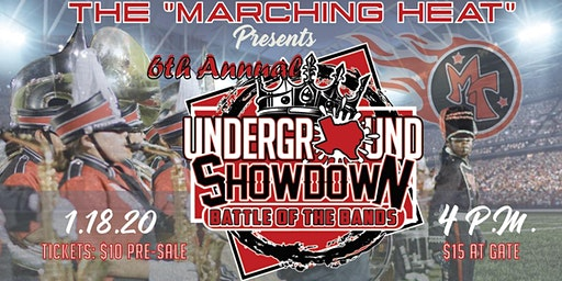 The 6th Annual Underground Showdown Battle of the Bands