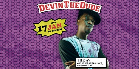 Devin The Dude Live at The AV tickets