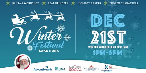 Winter Wonderland Festival in Lake Nona