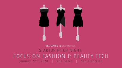 RESCHEDULED! Startup Pitch Night: Focus on Fashion & Beauty Tech tickets