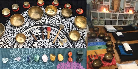 """Sonic Crystal Reiki"" Singing Bowl Sound Bath with Mel Rio tickets"