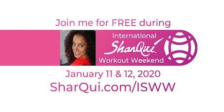 International SharQui Workout Weekend with Oreet tickets