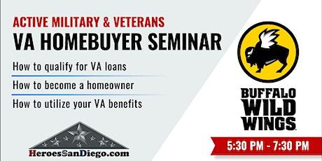 San Diego Military & Veterans Homebuyers Seminar / Workshop tickets