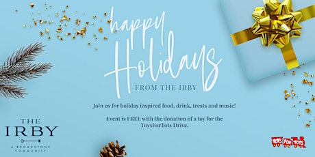 Happy Holidays from The Irby! tickets