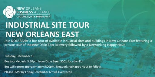 New Orleans East Industrial Site Tour