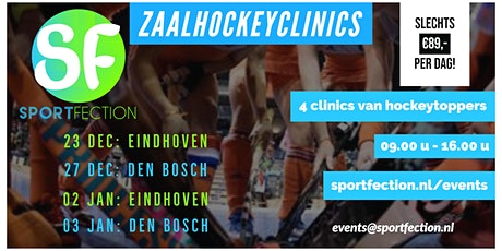 Zaalhockeyclinic | 23-12-2019 | Sporthal Frits Philips (Eindhoven) tickets