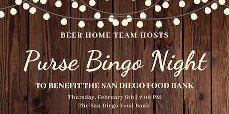 Ladies Purse Bingo Night to Benefit the San Diego Food Bank tickets