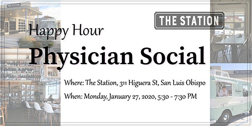 San Luis Obispo Happy Hour Physician Social 1.27.19